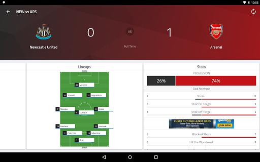 EPL Live: English Premier League scores and stats  Screenshots 12