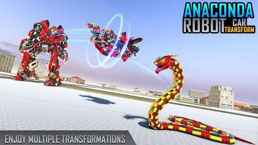 Anaconda Robot Car Games: Mega Robot Games 1.9 screenshots 7
