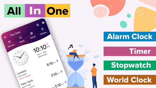 The Clock: Alarm Clock & Timer screenshots 2
