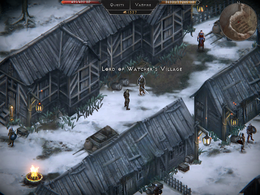 Vampire's Fall: Origins RPG modavailable screenshots 12