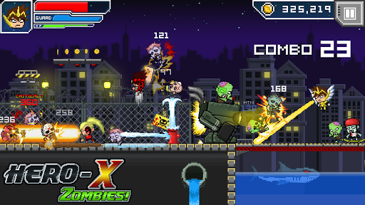 HERO-X: ZOMBIES! android2mod screenshots 6