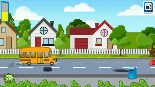kids school bus adventure screenshot 1
