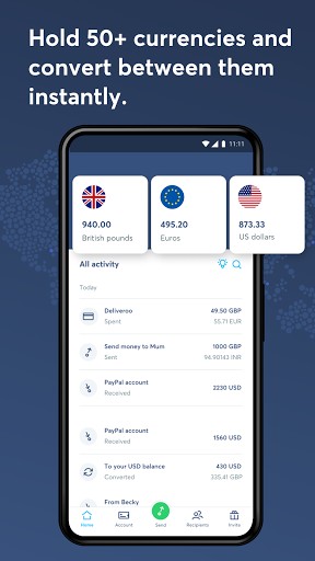 Wise, ex TransferWise android2mod screenshots 4