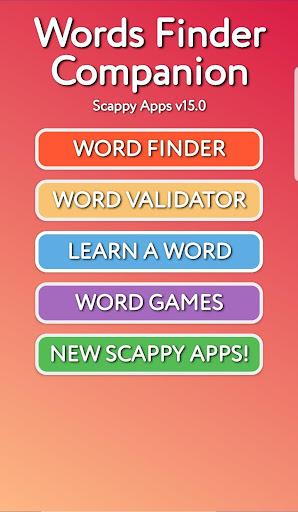 Word Finder Companion 17.1 screenshots 1