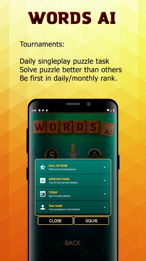Word Games AI (Free offline games)  screenshots 4