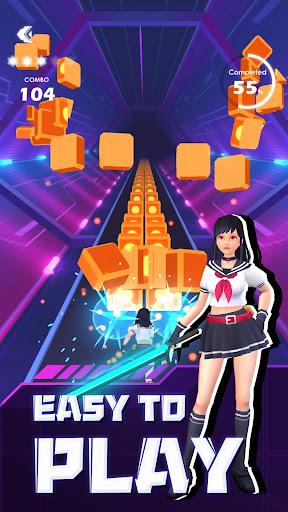 Beat Sword - Rhythm Game  screenshots 1