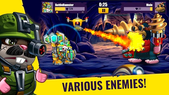 Hamsters: PVP Fight for Freedom Mod Apk 1.50 5