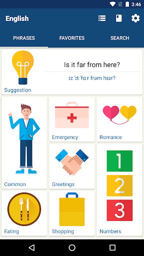 Learn English Phrases | English Translator  Screenshots 1
