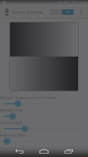 Screen Balance