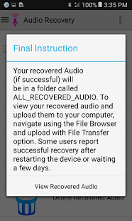 Audio Recovery 4.8 APK screenshots 4