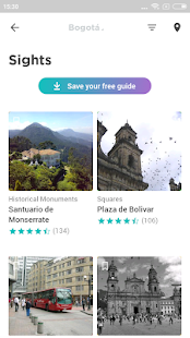 Bogotá Travel Guide in English with map