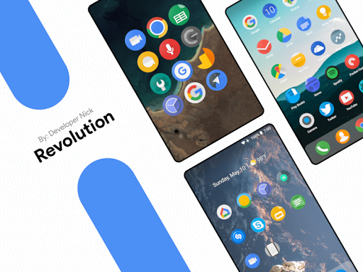 Revolution Icon Pack For PC Windows (7, 8, 10, 10X) & Mac Computer Image Number- 5