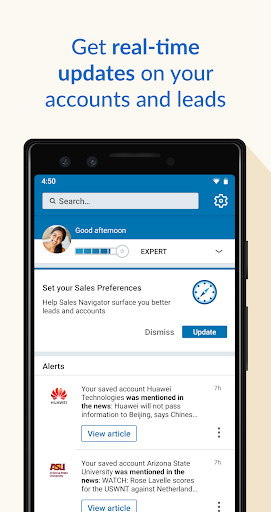 LinkedIn Sales Navigator screenshots 1
