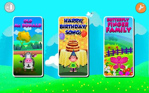 Kids Top Nursery Rhymes Videos - Offline Learning FiveLittle_v7.1 Screenshots 11