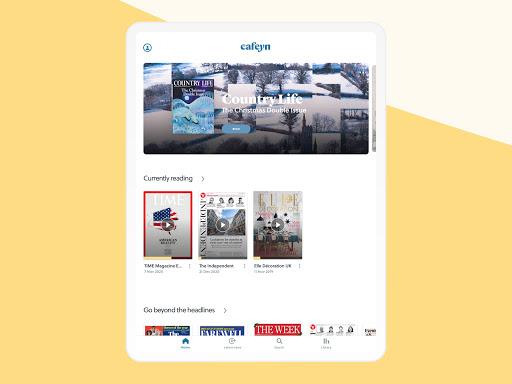 CAFEYN u2013 Online magazine subscriptions 4.10.2 Screenshots 10