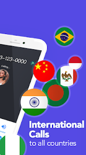 TalkU Mod Apk + Free Texting +International Call 2