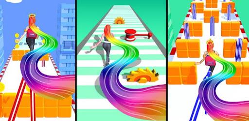 Hair challenge Run Rush screenshots 2