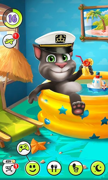 My Talking Tom Android App Screenshot