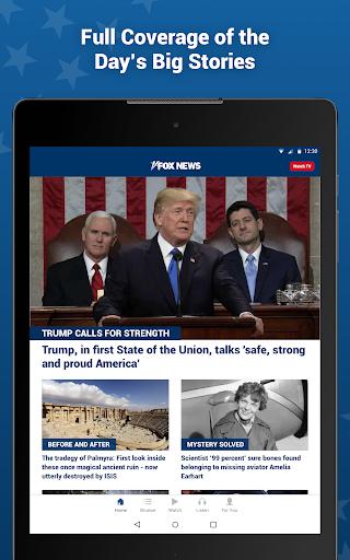 Fox News: Breaking News, Live Video & News Alerts 4.20.0 Screenshots 9