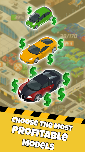 Idle Car Factory: Car Builder, Tycoon Games 2021ud83dude93  screenshots 6