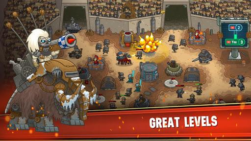 Steampunk Defense: Tower Defense screenshots 3