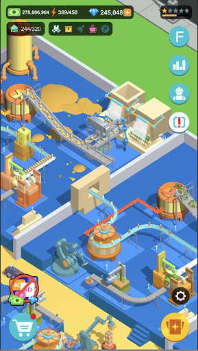 Idle Food Factory 1.2.1 screenshots 12