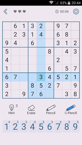 Sudoku: Free Brain Puzzles  screenshots 7