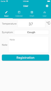 Body temperature record – Thermometer Records – 1.1.2 APK Mod for Android 1