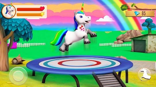 Unicorn Wild Life Fun: Pony Horse Simulator Games 1