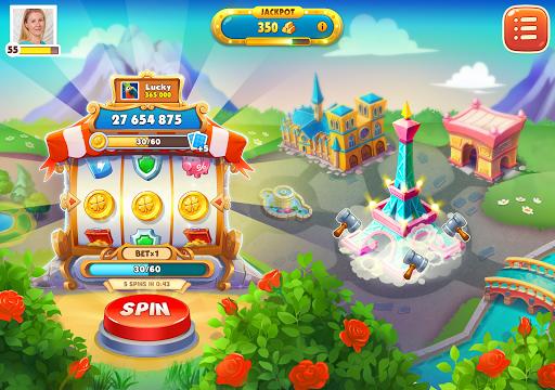 Spin Voyage: raid coins, build and master attack!  screenshots 6
