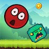Red Ball 10 Classic - New Bounce Ball 2021 game apk icon