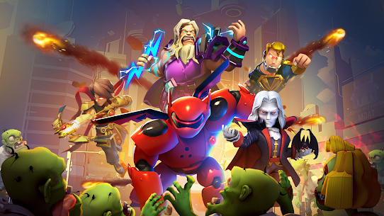 Clash of Glory  Project Zombies-Rise of Heroes Apk Download 1