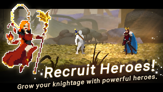 Unknown Heroes Idle Mod Apk 1.1.00 (Unlimited Gold/Diamonds/Ores/Stones) 1