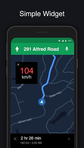 GPS Speedometer: Speed Tracker, HUD, Odometer 7.8 Screenshots 3