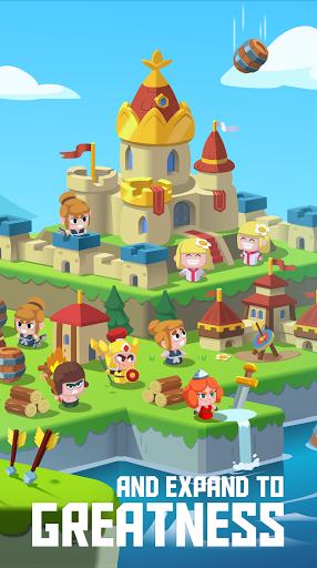 Merge Stories - Merge, Build and Raid Kingdoms!  screenshots 4