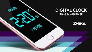 SmartClock - Digital Clock LED & Weather