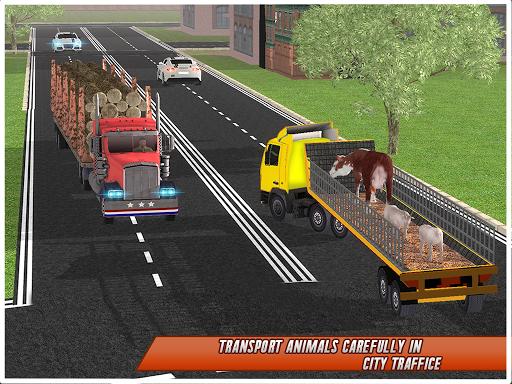 Farm Animal Transport Truck Simulator Driver 2020 2.7 Screenshots 14
