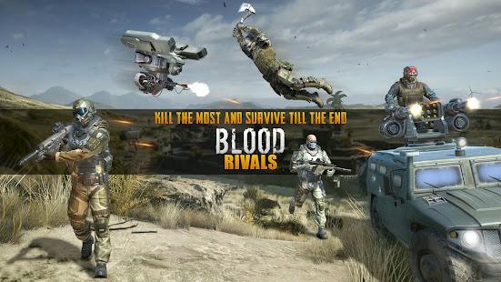 Blood Rivals - Survival Battleground FPS Shooter 2.4 Screenshots 6