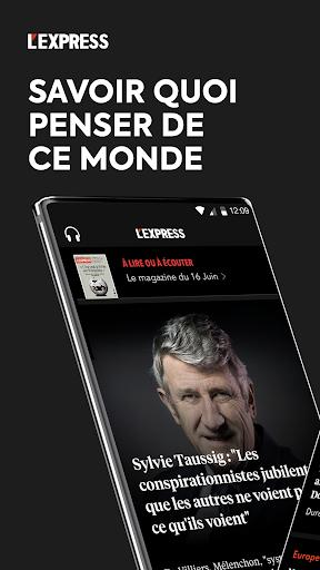L'Express I Actualités, Infos, France, Monde  screenshots 1