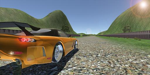 RX-7 VeilSide Drift Simulator: Car Games Racing 3D  screenshots 1