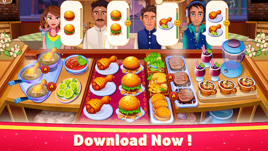 Indian Cooking Star: Chef Restaurant Cooking Games apk
