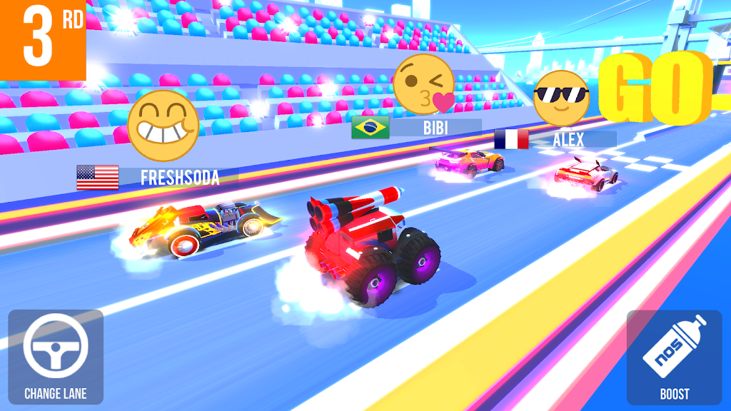 SUP Multiplayer Racing  poster 2