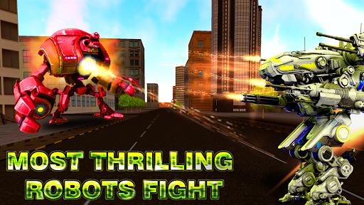 Robot World At War - Robo Battle Ground APK MOD – Monnaie Illimitées (Astuce) screenshots hack proof 2