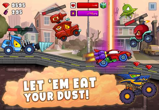 Car Eats Car 2 - Racing Game apktram screenshots 3