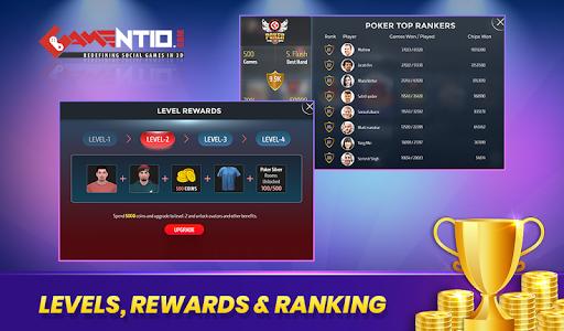 Gamentio 3D: Poker Teenpatti Rummy Slots +More  screenshots 13