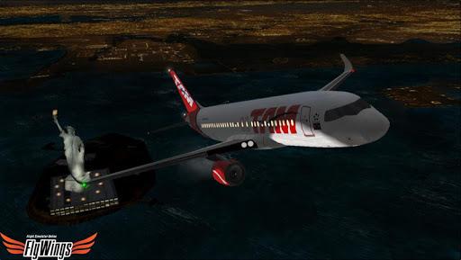 Flight Simulator Night - Fly Over New York NY 1.0.1 screenshots 23