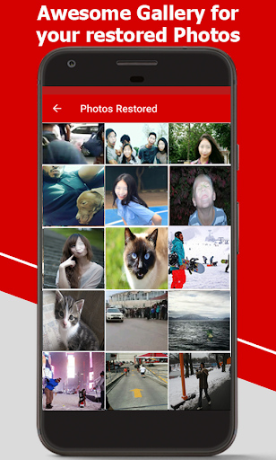 Restore Deleted Photos - Picture Recovery  Screenshots 4