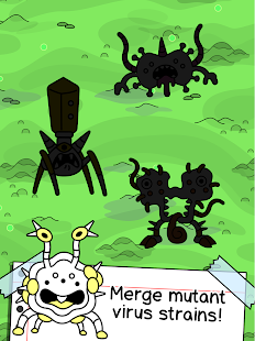Virus Evolution - Merge & Create Mutant Diseases Screenshot