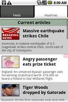 screenshot of UK & World News