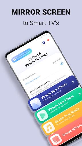 Stream and Cast for Chromecast screenshots 1